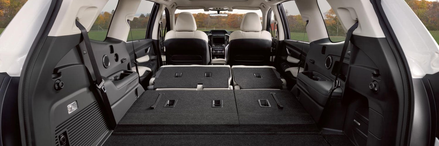 Versatile Cargo Area in the new Subaru Ascent